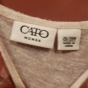 Cato Tops - CATO LONG  SLEEVED TOP SIZE 26/28